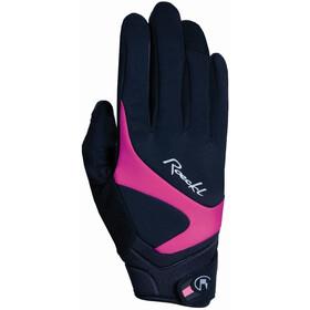 Roeckl Rhein Gants, black/pink